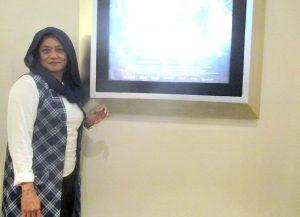 Kusuma Wardhani, saat ditemui MediaWarta.com secara langsung di Cinema XXI Trans Studio Mall (TSM) Makassar, Kamis (4/8/2016), seusai menonton tayang perdana film 3 Srikandi, dengan gamblang menjelaskan, 70 persen alur film sesuai kisah aslinya dan 30 persen di-blow up (dikembangkan) sutradara. Foto: Effendy Wongso